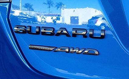 Auténtica Subaru OEM limitada negro tronco/puerta