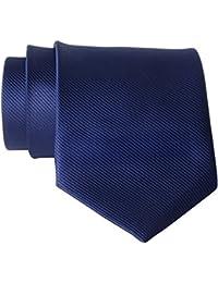 QBSM New Polyester Textile Men's Neckties Solid Color Ties