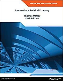 International Political Economy by Thomas Oatley (2013-11-01)