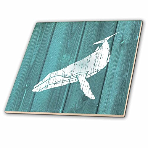 4 Tile Wood Tray - 2