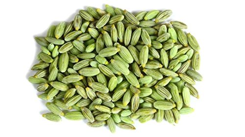 (100g Fennel Seeds Whole Organic Saunf Spices Premium Quality Direct From India)