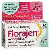 Florajen Florajen Acidophilus, 30 caps (Pack of 3)