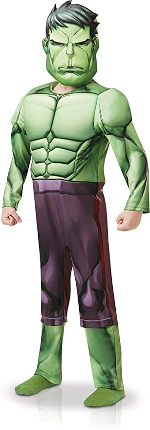 Rubies 640839S - Disfraz infantil de los Vengadores de Marvel Hulk ...