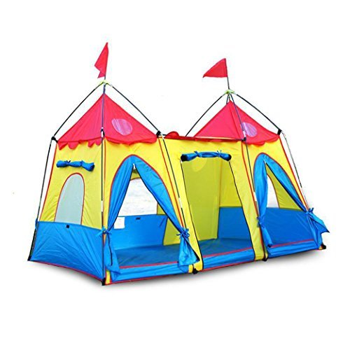 LOOGU Funny Cute Kids Castle Tent Fantasy Palace Play Tent - Indoor/Outdoor by Tent