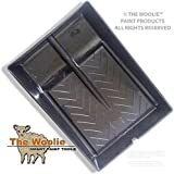 The Woolie Original Dual 2-Color Split Roller Tray - Faux Painting Double Roller Tray