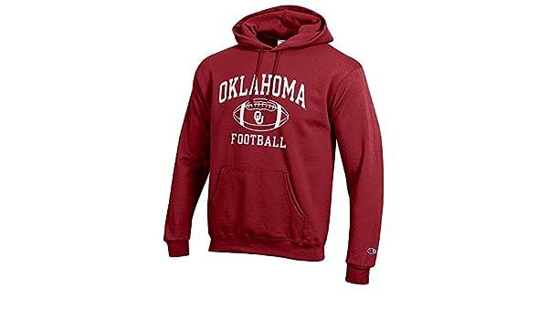 Sudadera con capucha para hombre de equipos de fútbol americano de la NCAA en varios colores, Large, Oklahoma Sooners Crimson: Amazon.es: Deportes y aire ...