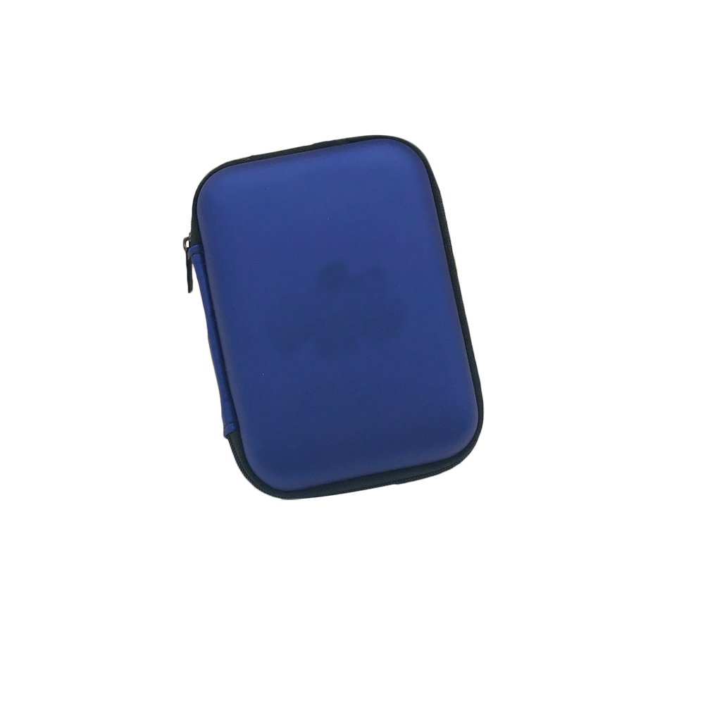 Dylandy 2.5 Inch Hard Drive Disk Case Portable External Hard Disk Drive HDD Carrying PU Travel Case Pouch Cover with Shockproof Waterproof