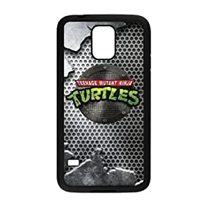 LeonardCustom Protective Hard Rubber Coated Cover Case for Samsung Galaxy S5, TMNT Teenage Mutant Ninja Turtles -LCS5U133