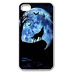 Wolf Original New Print DIY Phone Case for Iphone 4,4S,personalized case cover ygtg600764