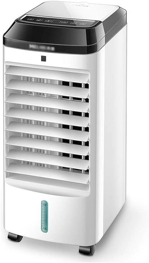 Ventilador electrico Ventilador purificador de aire, enfriador de aire, deshumidificador, ventilador de aire acondicionado de refrigeración, ventilador vertical sin ventilador, enfriador evaporativo s: Amazon.es: Hogar