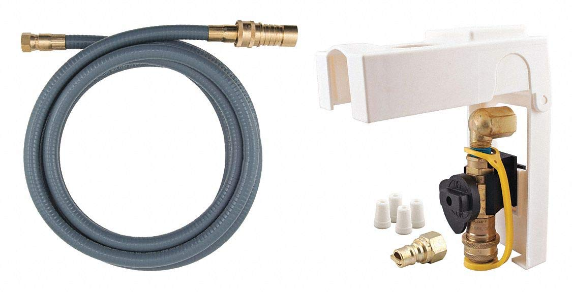 Falcon FF-12 3//4 I.D. x 12 L Stainless Steel Flex Connector with 3//4 FIP