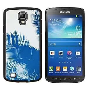 Stuss Case / Funda Carcasa protectora - Palma Reflexión Tropical Verano Azul - Samsung Galaxy S4 Active i9295