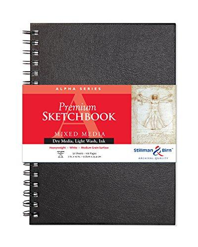 Stillman & Birn Alpha Series Wirebound Sketchbook, 7