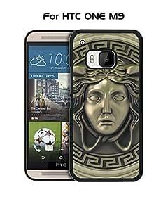 Tough Versace HTC M9 Funda Case Dust-proof ,Brand Logo Funda Case cover for HTC ONE M9