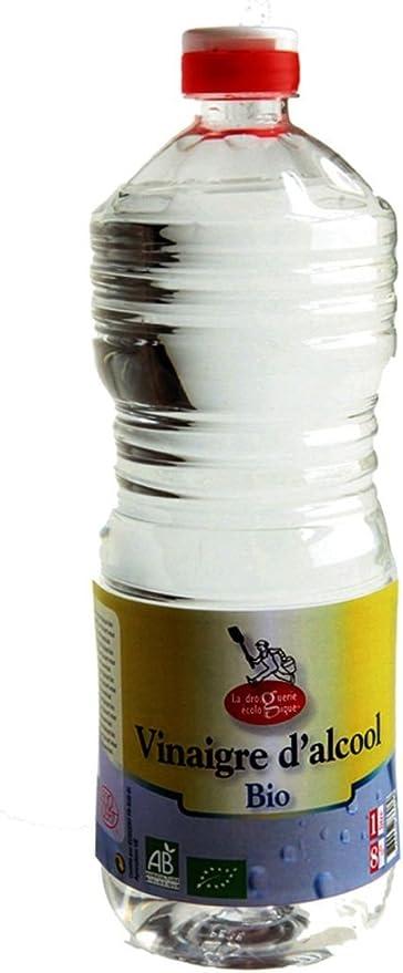La droguerie écologique 4101 - Vinagre de Alcohol 8º, 1L: Amazon ...