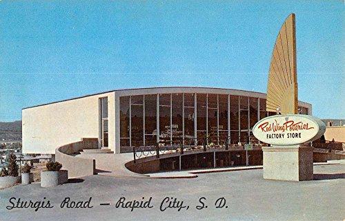 Rapid City South Dakota Red Wing Potteries Store Antique Postcard K77686