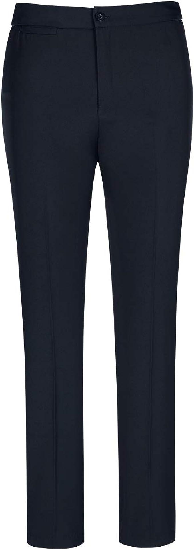 Conjunto de traje de mujer para negocios corte ajustado con pantalones elegantes para la oficina o la boda YYNUDA