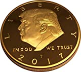Donald Trump Gold Coin, Gold Plated Collectable