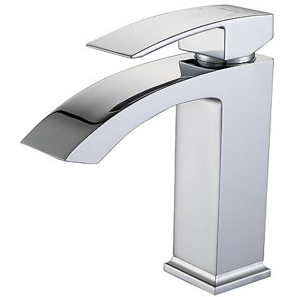 SonTiy Lead Free Bathroom Faucet Single Hole Best Modern Solid Brass  Bathroom Sink Faucet Hot U0026