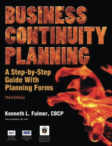 Business Continuity Planning: A Step-by-Step Guide with Planning Forms