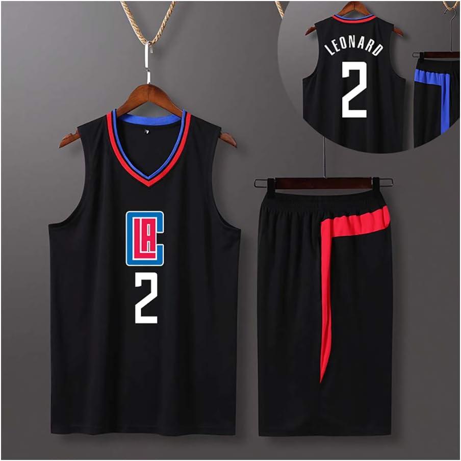 Conjunto de Baloncesto Kawhi Leonard 2# Los Angeles Clippers ...