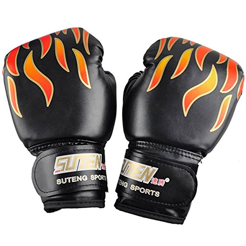 Kids Soft Boxing Gloves for Training Punching Bag Kickboxing Mitts Age 3-10 c