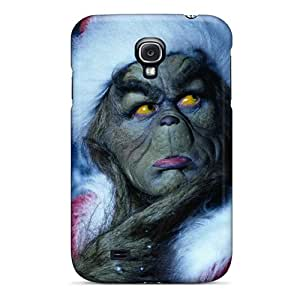 Durable Hard Cell-phone Cases For Samsung Galaxy S4 With Customized Trendy The Grinch Series CristinaKlengenberg