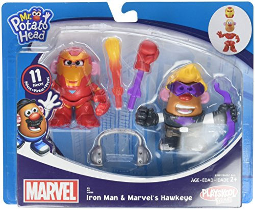 Potato Head MPH Marvel Mashup Hawkeye & Iron Man Toy ()