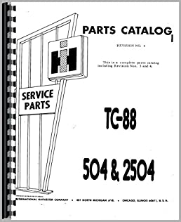 farmall 504 tractor parts manual 6301147658128 amazon com books  504 international tractor parts diagram #14
