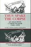 Thus Spake the Corpse, Andrei Codrescu, 1574231014