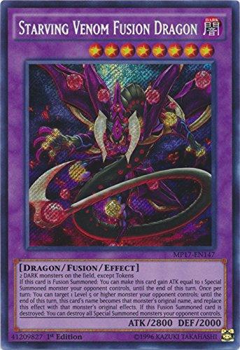 Starving Venom Fusion Dragon - MP17-EN147 - Secret Rare - 1st Edition - 2017 Mega-Tin Mega Pack (1st Edition)