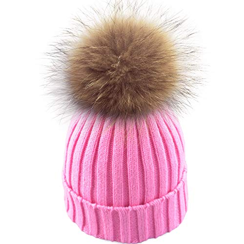 Used, Winter Soft Stretch Knitted Warm Beanie hat Women Real for sale  Delivered anywhere in USA