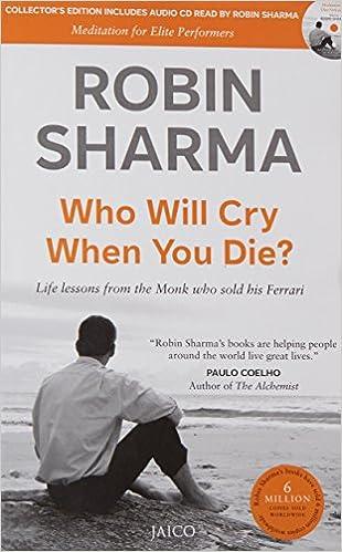 Who Will Cry When You Die? (With CD) price comparison at Flipkart, Amazon, Crossword, Uread, Bookadda, Landmark, Homeshop18