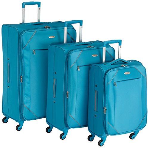 Mirano Set di valigie 220073 Blu 20 L
