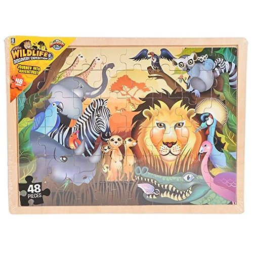 Zoo Animals Sound Puzzle - 6