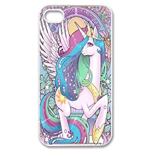 Hjqi - Custom My Little Pony Phone Case, My Little Pony Personalized Case for iPhone 4,4G,4S