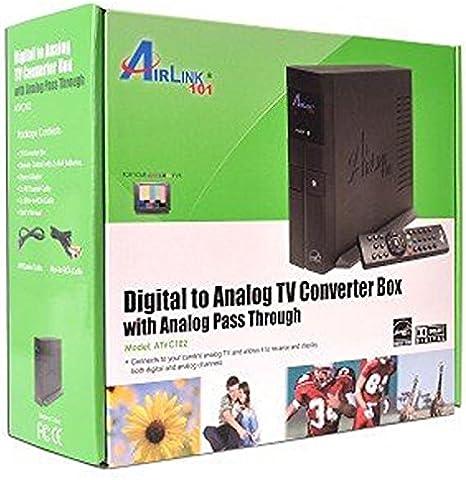 AirLink 101 ATVC102 - Convertidor de TV Digital a analógico con Pasador analógico: Amazon.es: Electrónica
