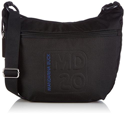 Mandarina Duck MD20 TRACOLLA - Bolso de hombro de material sintético mujer Negro - Negro