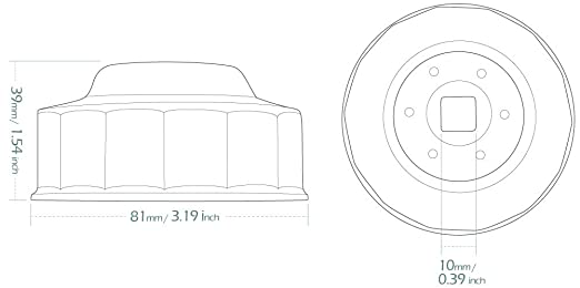 Amazon Com Kiwav Oil Filter Wrench Removal Tool For Harley Davidson