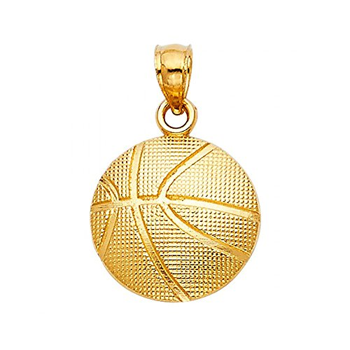 Yellow Gold Basketball - 1