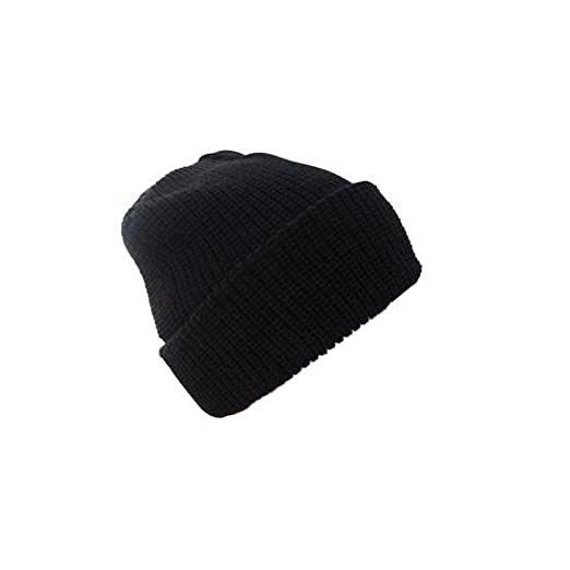 a8a56882a1e Amazon.com  Mil-tec Black Winter Watch Cap  Clothing