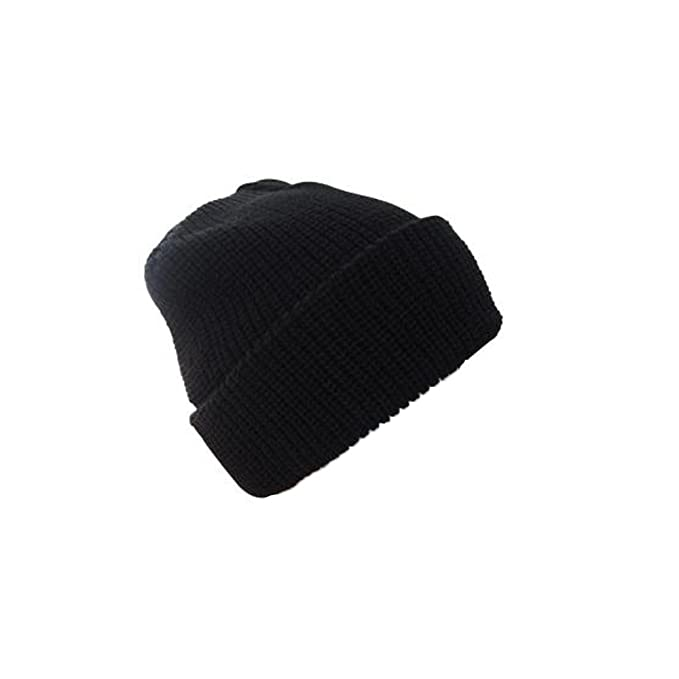 47c4376649c Mil-tec Black Winter Watch Cap  Amazon.co.uk  Clothing