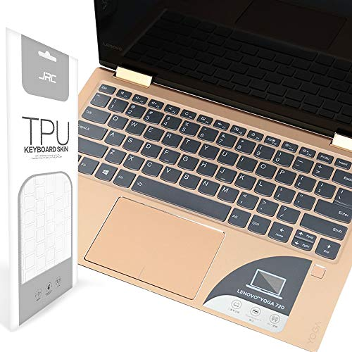 VFENG Premium Keyboard Protector, Ultra Thin Clear TPU Keyboard Cover Compatible with Lenovo Yoga 720 Touch-Screen Laptop 13 12.5 Inch—Ultra Clear