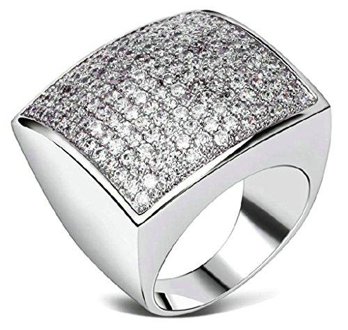 Bague-PersonnalisAdisaer-Bague-Femme-Plaque-Or-Bague-de-Fiancaille-Gravure-Place-Bague-Diamant