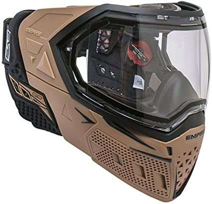 Amazon Com Empire Evs Thermal Paintball Goggles Tan Black Sports Outdoors