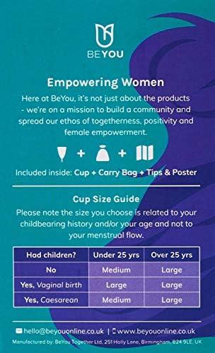 BeYou Copa menstrual   Top 10 de salud femenina   Copa de período, alternativa ecológica de tampón   Copa cómoda   Menstrual   Copa menstrual   Copa ...