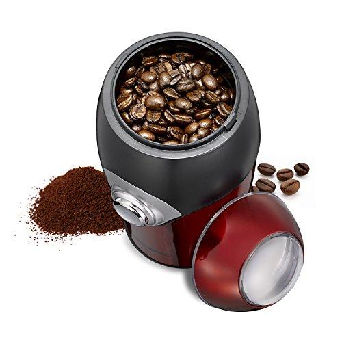 Melissa Kaffee-Mühle elektrisch Universal-Mühle Mahlwerk bis zu 50 g InspiRED 150 Watt