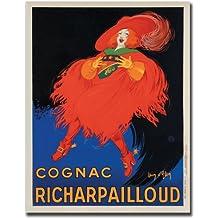 Cognac Richard Pailloud by Jean D'Ylen, 18x24-Inch Canvas Wall Art