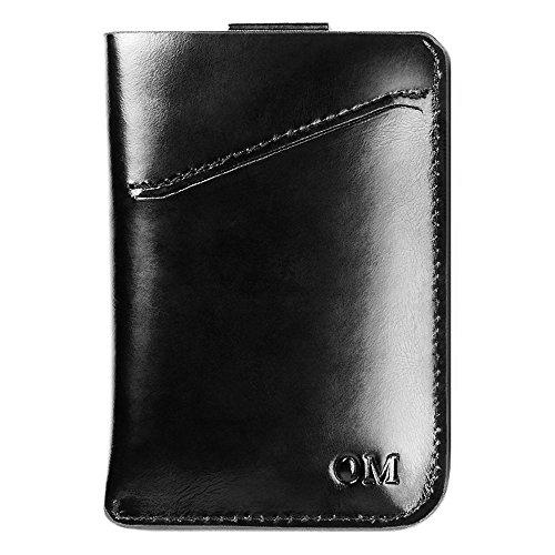 1134edb928f4 OMcolor Minimalist Slim Wallet-New Idea Front Pocket Card Holder ...