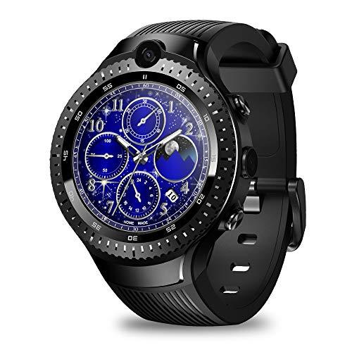 Zeblaze Thor 4 Dual 4G Smartwatch 5,0 MP + 5,0 MP Dual Kamera Android Watch 1,4 Zoll AOMLED Display GPS/GLONASS 16 GB…